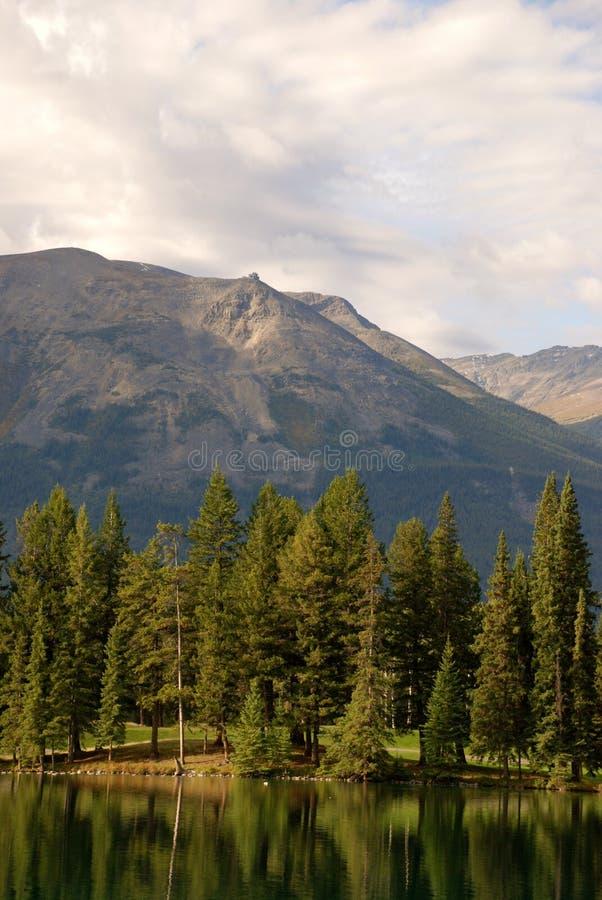 Горы вызывают стоковая фотография