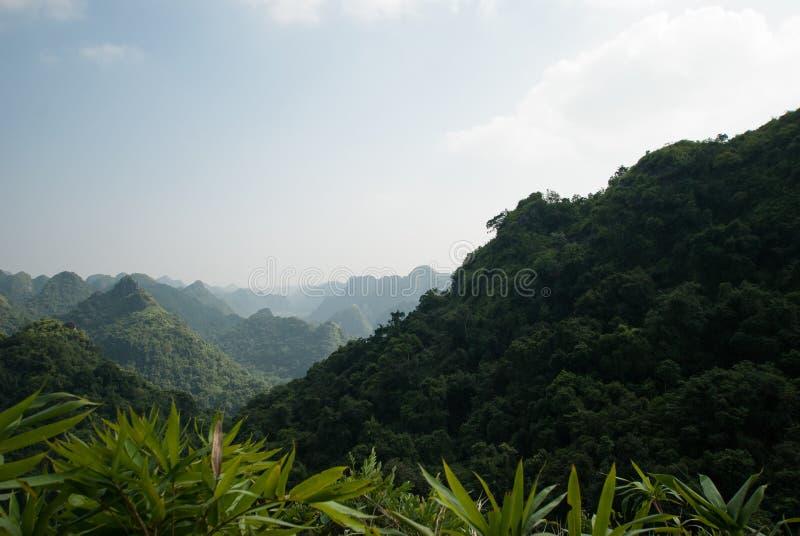 Горы Вьетнама стоковое фото