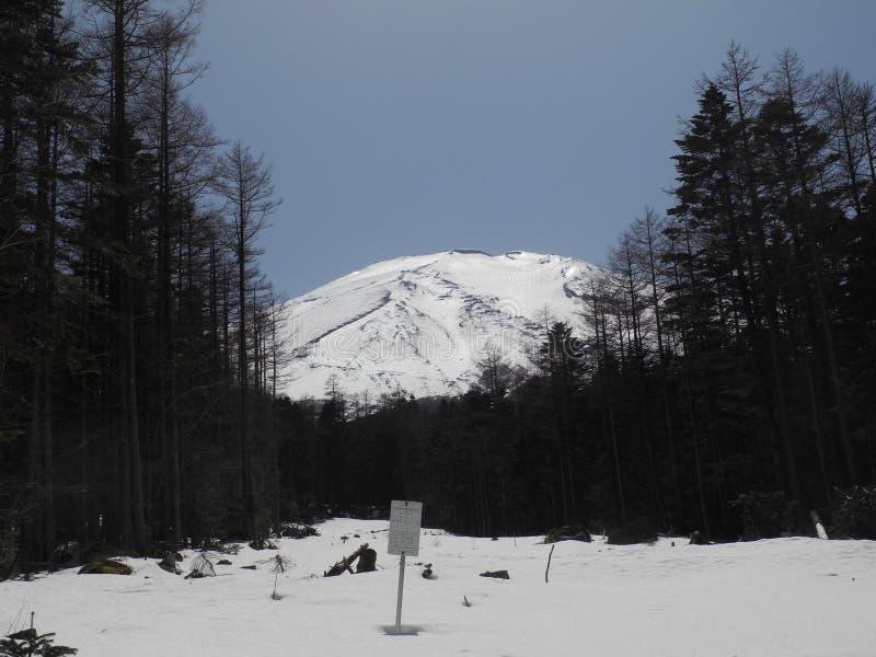 Горы в Японии стоковая фотография