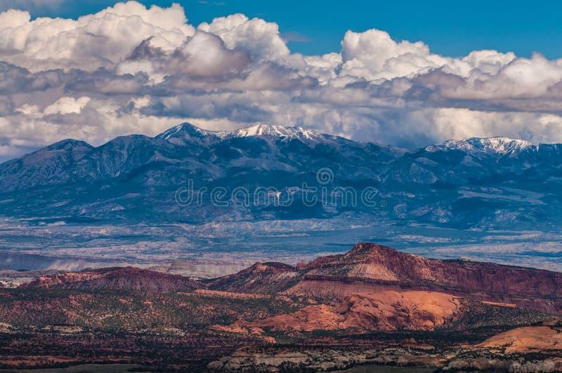 Горы Генри стоковые изображения