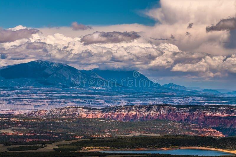 Горы Генри стоковое фото