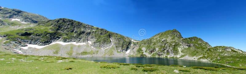горы горы озера lac de Франции creno Корсики корсиканские стоковые фото