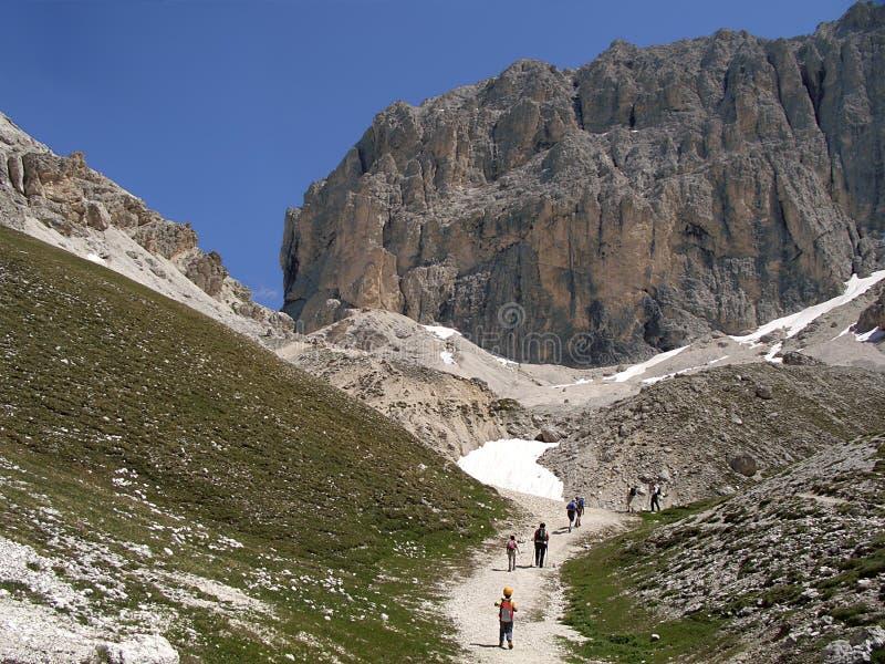 горы Италии доломитов alps стоковые фото