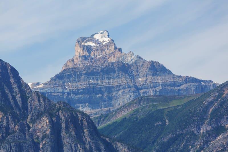 горы Канады стоковая фотография rf