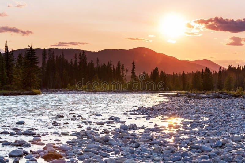 горы Канады стоковое изображение rf