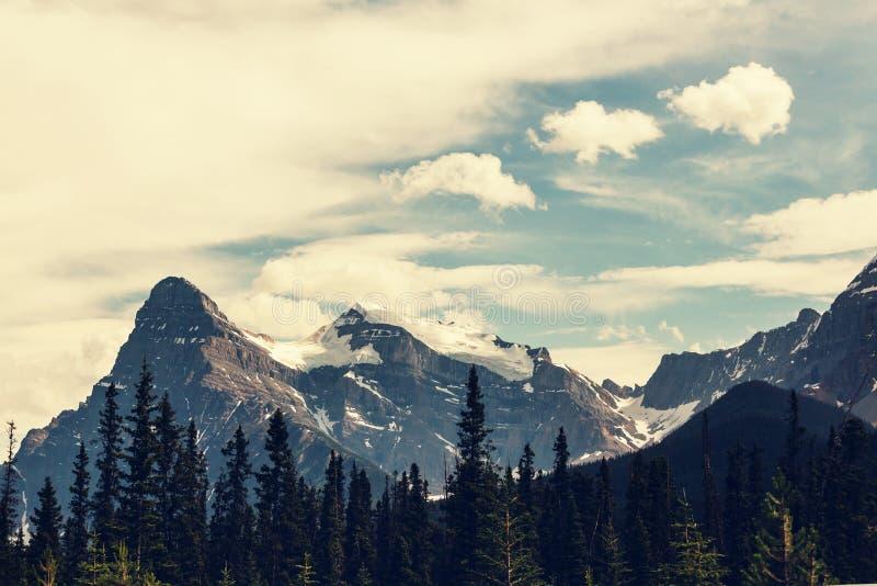 горы Канады стоковые изображения rf