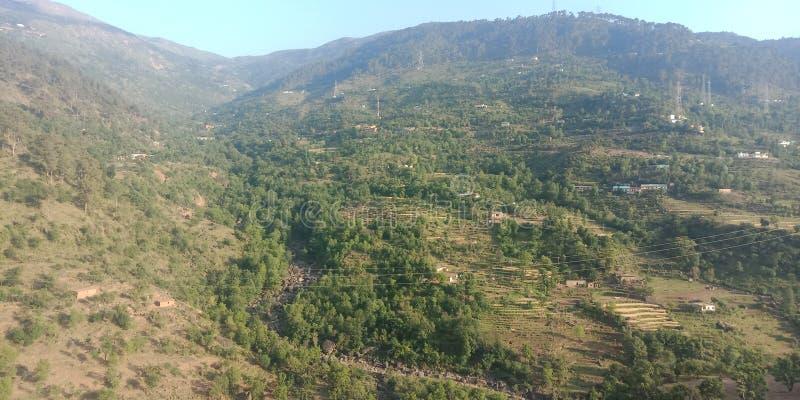 Горы Кашмира стоковая фотография