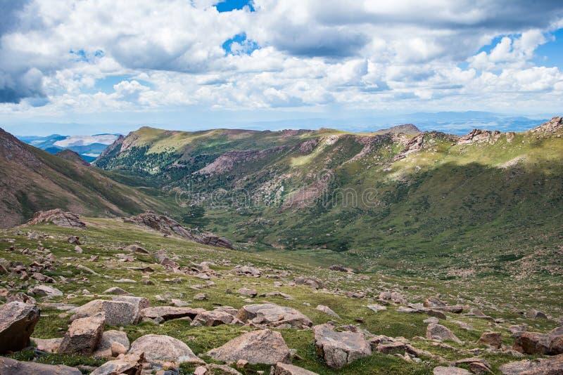 Горы Колорадо щук пиковые скалистые стоковая фотография