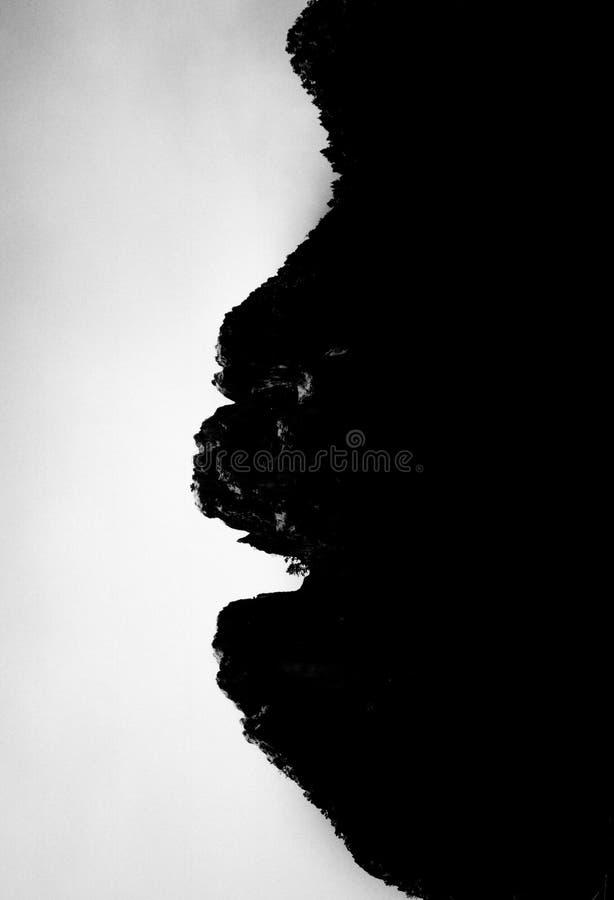 Горы могут заплакать стоковое изображение