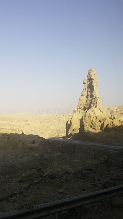 Горы неба взгляда природы пустыни стоковая фотография