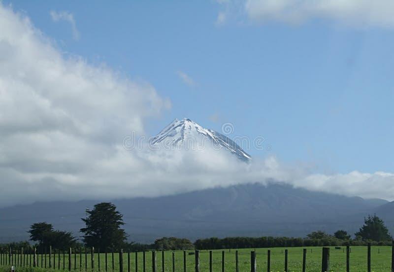 горы Новая Зеландия стоковое изображение rf