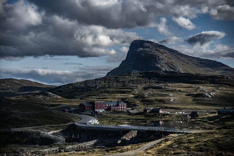 горы норвежские стоковые фото
