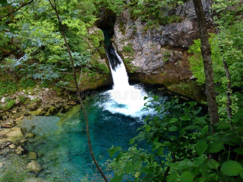 Горы озера албанских Альп стоковые фотографии rf