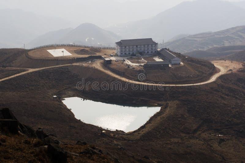 горы озер стоковая фотография