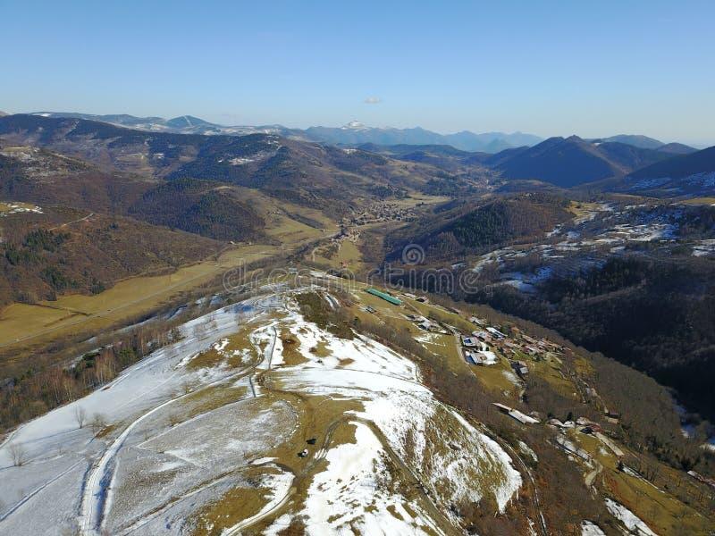 Горы от воздуха стоковая фотография rf