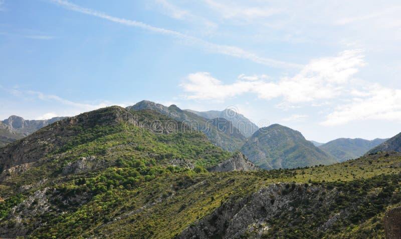 Горы долины стоковые изображения rf