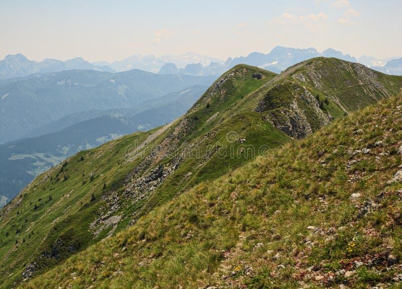 Горы посетителя стоковое изображение