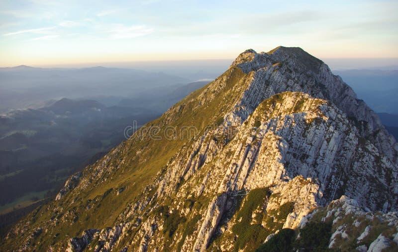 горы румынские стоковые фотографии rf