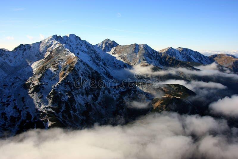 горы Словакия стоковые изображения