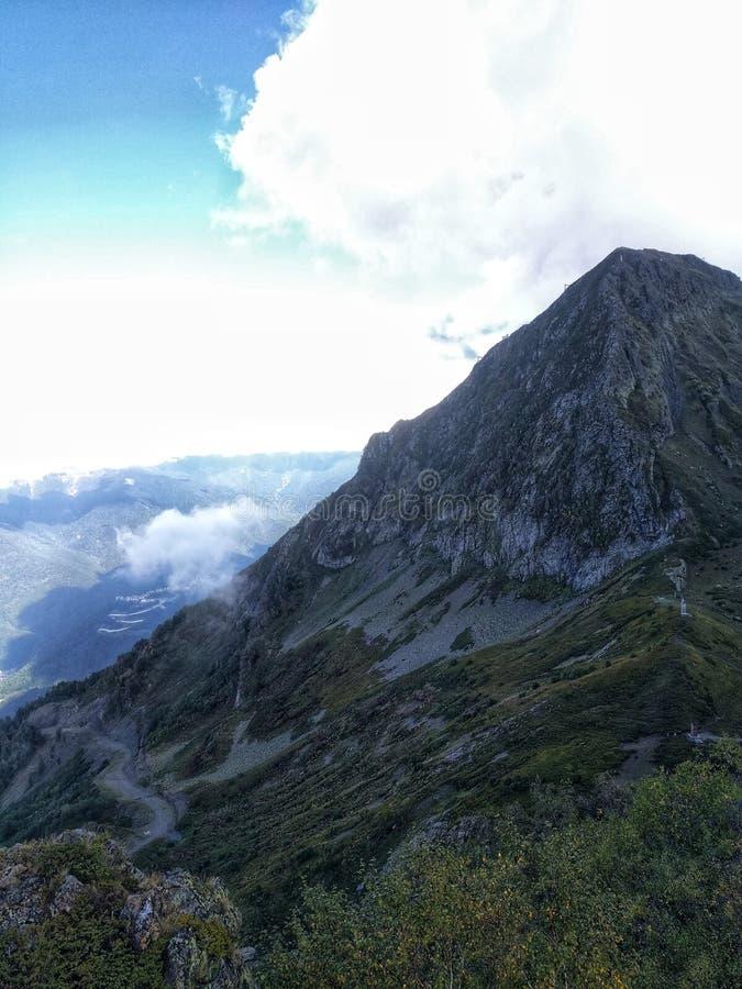 Горы Сочи стоковые фотографии rf
