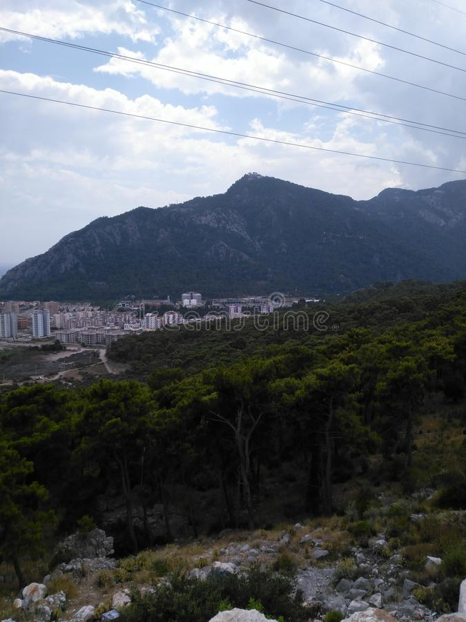 горы славные стоковое фото rf