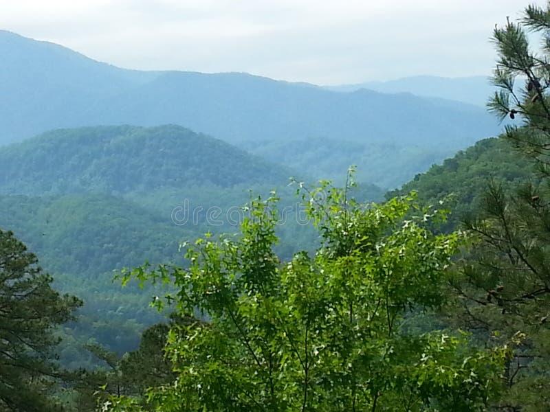 Горы Теннесси стоковая фотография rf