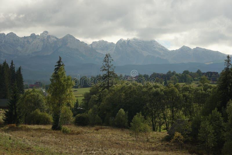 Горы, утесы стоковое фото rf