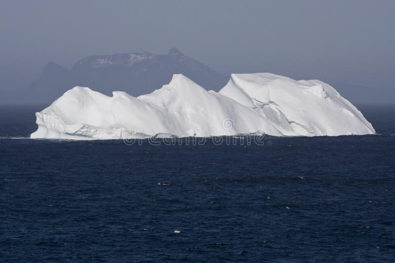 Горы льда и утеса стоковое изображение