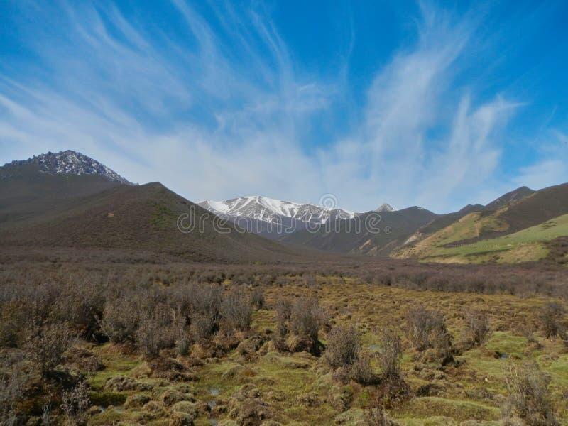Горы Юньнань, Китай стоковая фотография rf