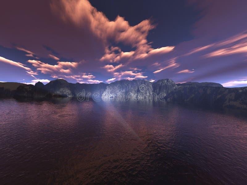 Download горы иллюстрация штока. иллюстрации насчитывающей backhoe - 482041