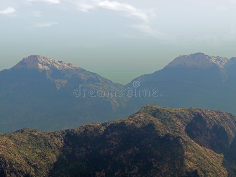 Download горы иллюстрация штока. иллюстрации насчитывающей изображение - 482090