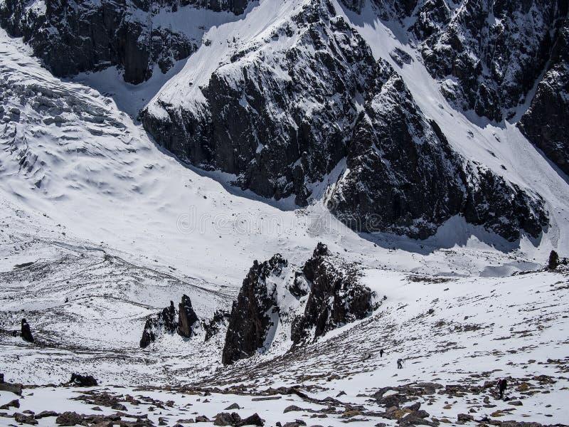 Горы Alaarcha стоковые изображения rf