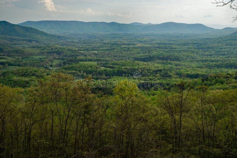 Горы Allegheny стоковая фотография
