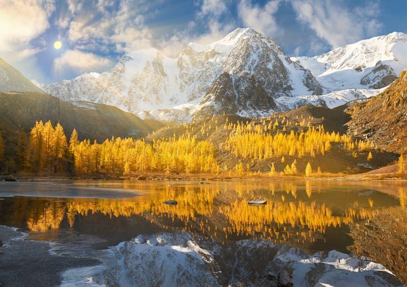 Горы Altai, Россия, Сибирь стоковое изображение rf
