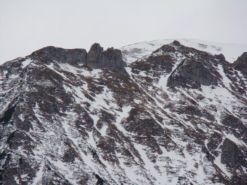 Горы Bucegi - Румыния стоковое изображение rf