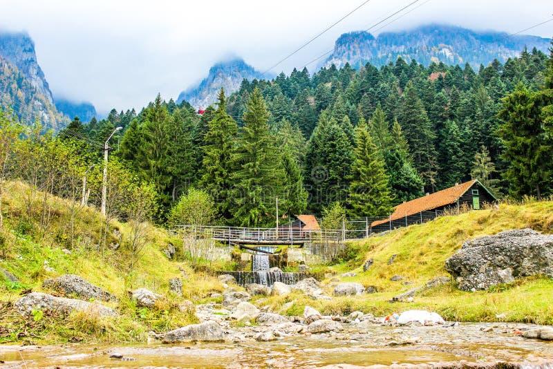 Горы Bucegi стоковые изображения rf