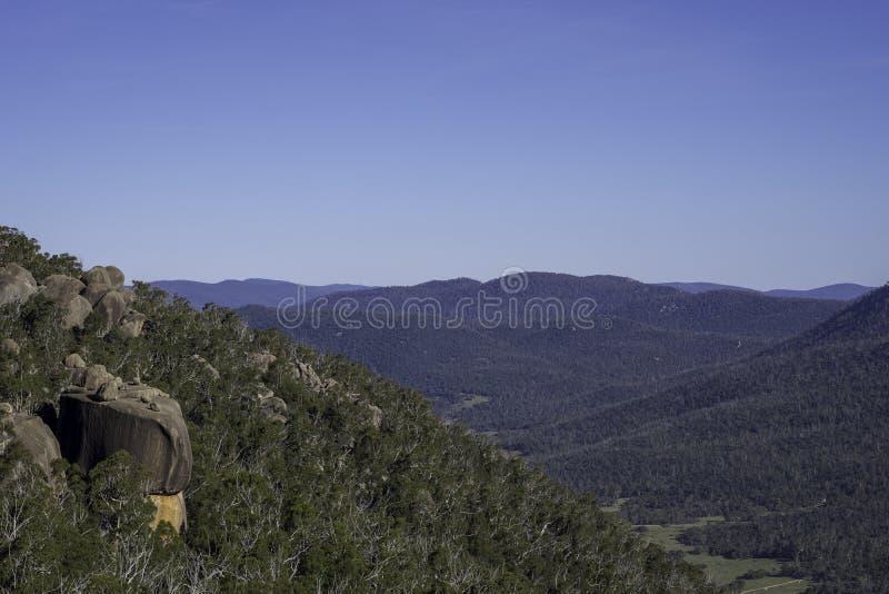 Горы Bushland австралийца стоковые изображения