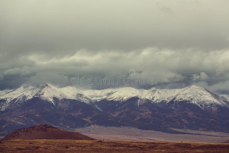 горы colorado стоковые фотографии rf