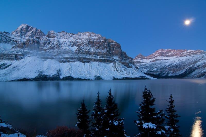 горы crowfoot стоковое изображение