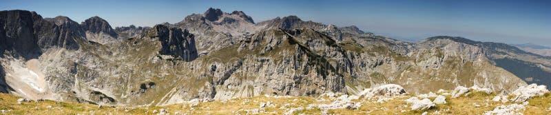 Горы Durmitor стоковое изображение rf