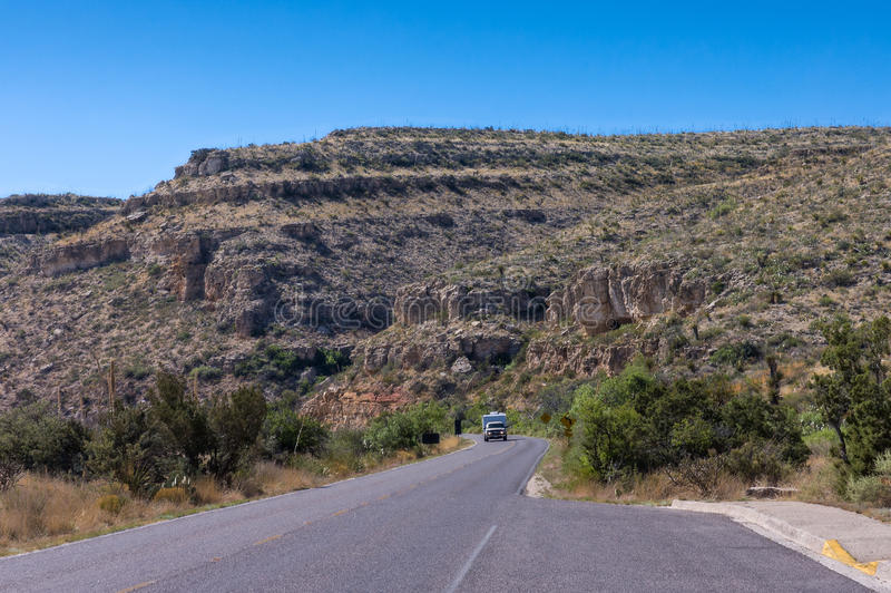 Горы Guadalupe, стоковое изображение