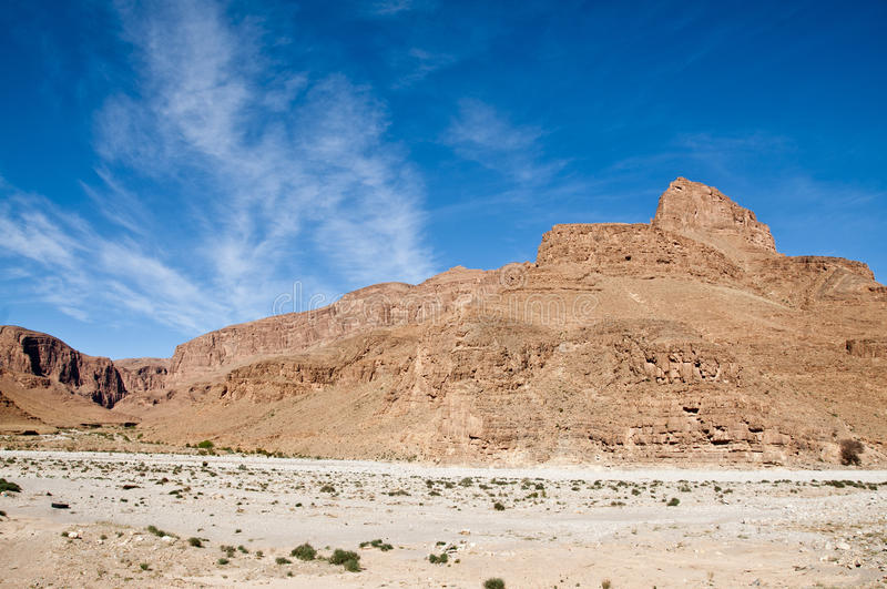 Горы Jbel Sarho, Марокко стоковые фотографии rf