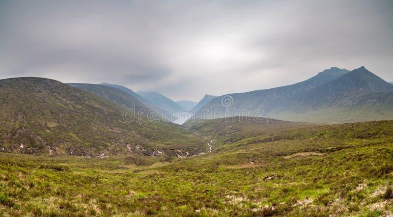 Горы Mourne стоковое изображение