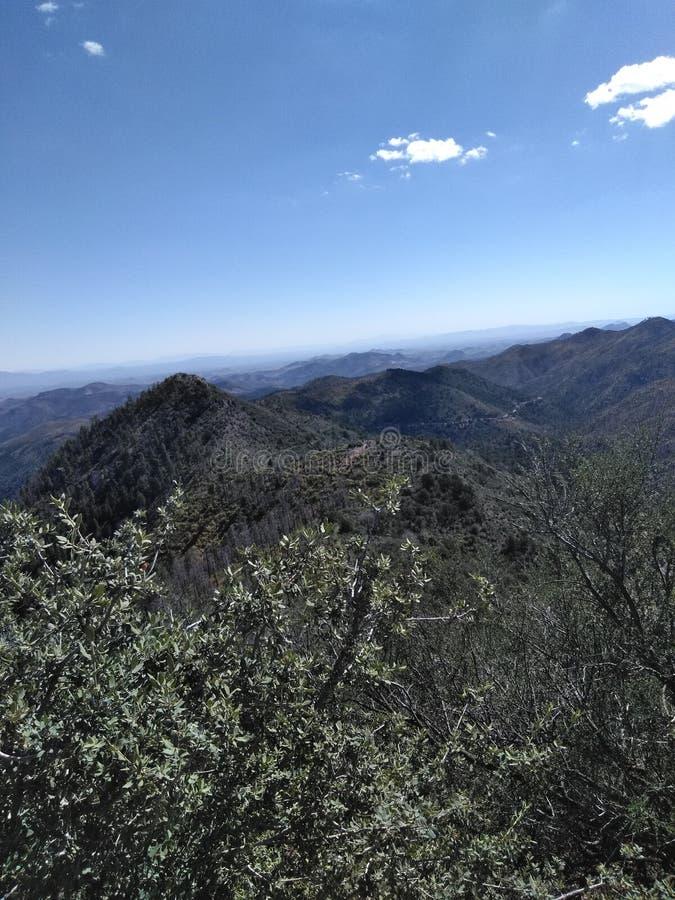 Горы NM стоковая фотография