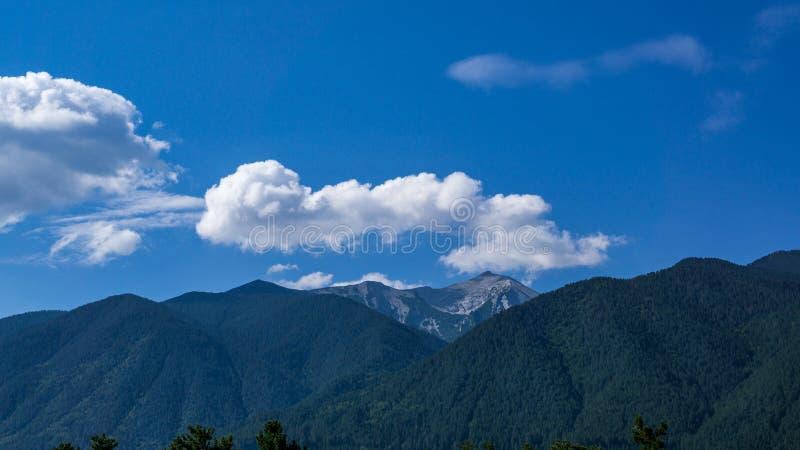 Горы Pirin стоковые фотографии rf
