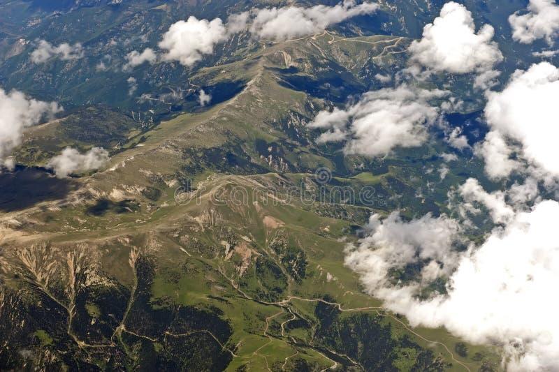 горы pyrenees стоковые фотографии rf