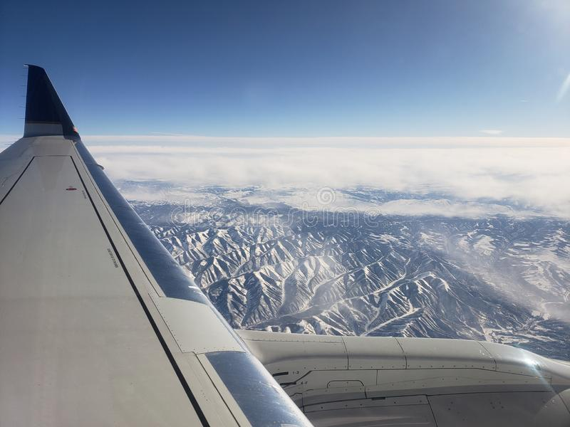 Горы Rockie стоковая фотография