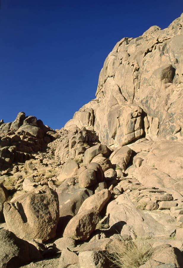горы sinai стоковое изображение