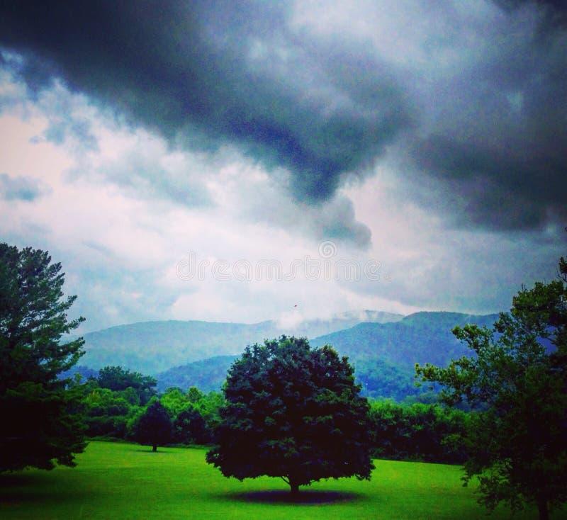 Горы Smokey стоковая фотография rf