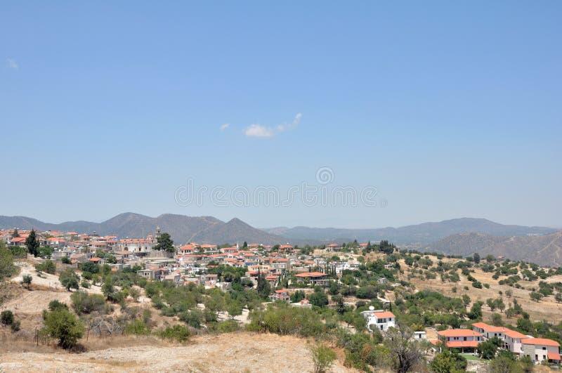 Горы Troodos Кипр стоковые фото